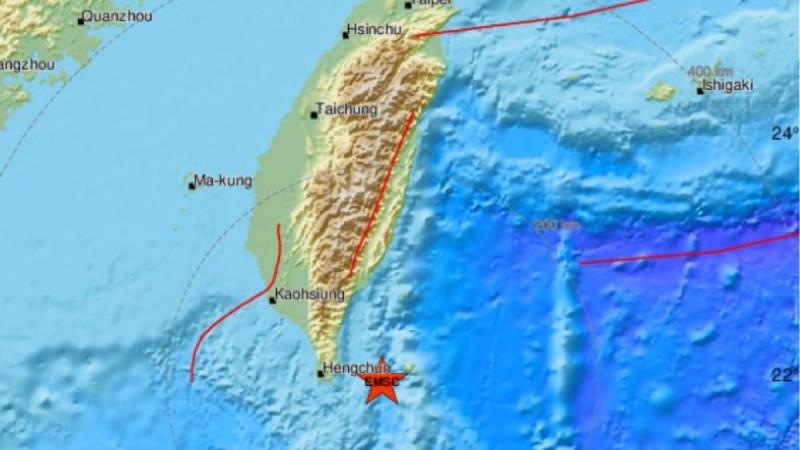 Σεισμός 5,5 Ρίχτερ στην Ταϊβάν