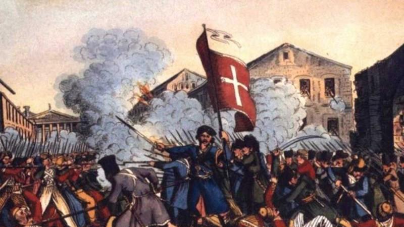 Η φωτογραφία της ημέρας: Αρχίζει η πολιορκία της Τριπολιτσάς