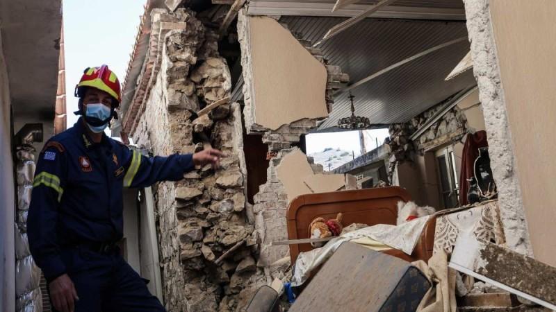 Χρηματοδότηση 2,46 εκατ. ευρώ στους δήμους Ελασσόνας και Φαρκαδόνας για τους σεισμόπληκτους