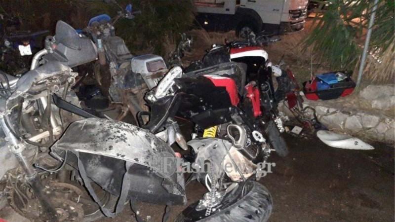 Θανατηφόρο τροχαίο στη Κρήτη: «Η μηχανή δεν είναι χτυπημένη» λέει ο πατέρας του 42χρονου