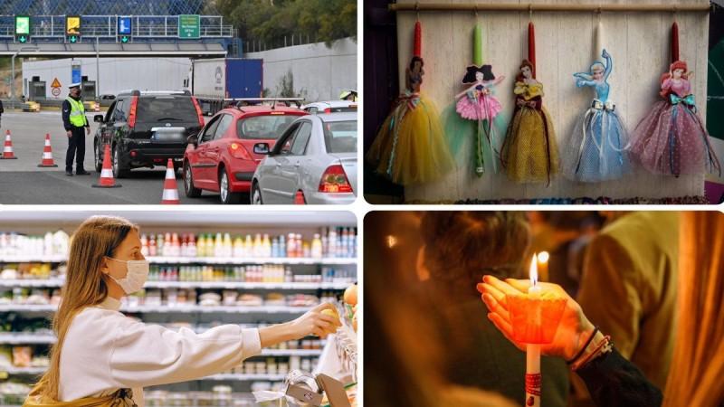 Μεγάλη Εβδομάδα με αλλαγές: Τι ισχύει για μετακινήσεις, εκκλησίες και καταστήματα;