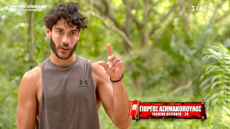 Survivor 4: Αγνώριστος ο Γιώργος Ασημακόπουλος - Η φωτογραφία που κάνει το γύρο του διαδικτύου