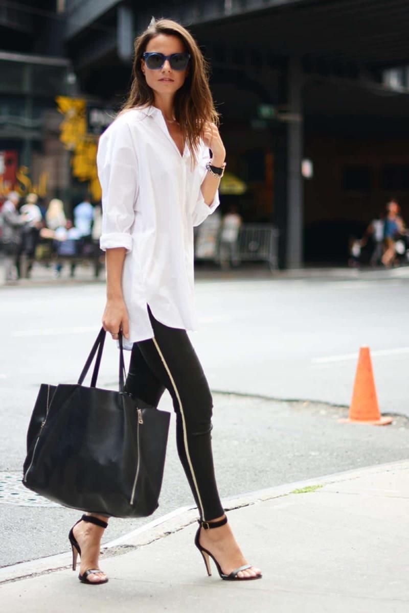 Το black and white outfit είναι από τα πιο αγαπημένα