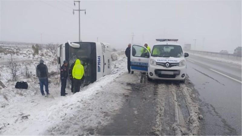 Τραγικό δυστύχημα στην Τουρκία - Ανετράπη τουριστικό λεωφορείο
