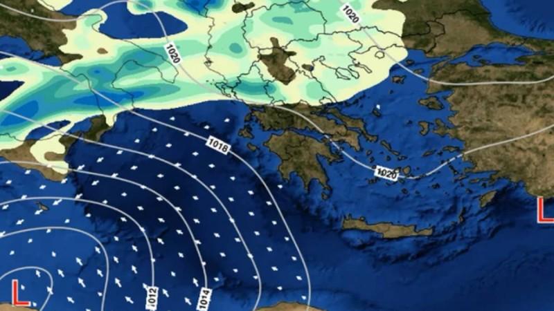 Χαλάει ξανά ο καιρός: Επιδείνωση από αύριο, τριήμερο με βροχές, σκόνη και ισχυρούς ανέμους