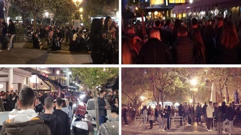 Κορωνοϊός: Αδιανόητος συνωστισμός με αλκοόλ & DJ σε πλατείες της Αττικής - Αψήφησαν τα μέτρα & έστησαν υπαίθρια πάρτι (Video)