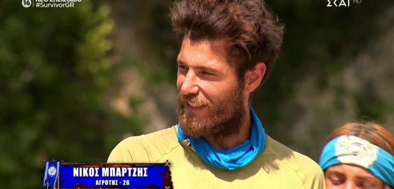 Survivor spoiler: Αποχωρεί από το Survivor 4 ο Νίκος Μπάρτζης!