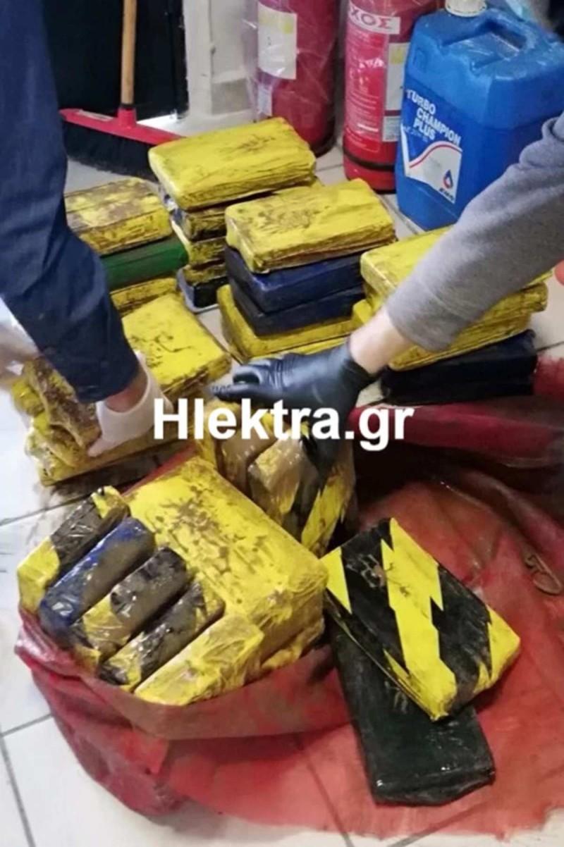 Εντοπίστηκαν 50 κιλά κοκαΐνη σε πλοίο