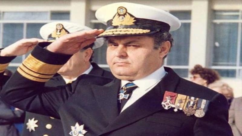 Νίκος Παππάς, ανώτατος αξιωματικός του Πολεμικού Ναυτικού
