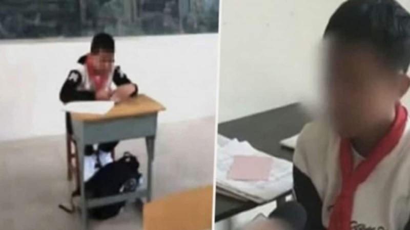 Δάσκαλος έβαλε παιδί με καρκίνο να κάθεται μόνο του στην τάξη... Ο λόγος θα σας εκνευρίσει!