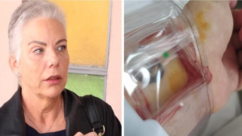 Νανά Παλαιτσάκη: «Είμαι πολύ τυχερή που...» - Το μήνυμά της μέσα από το νοσοκομείο (photo)