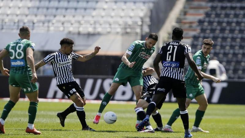 ΠΑΟΚ-Παναθηναϊκός: 0-0 με λάθος του Γκεστράνιους