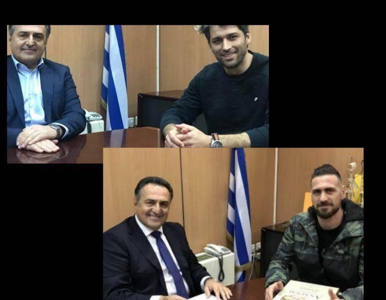 Φιλαράκια πριν το Survivor Αλέξης Παππάς και Κώστας Παπαδόπουλος!