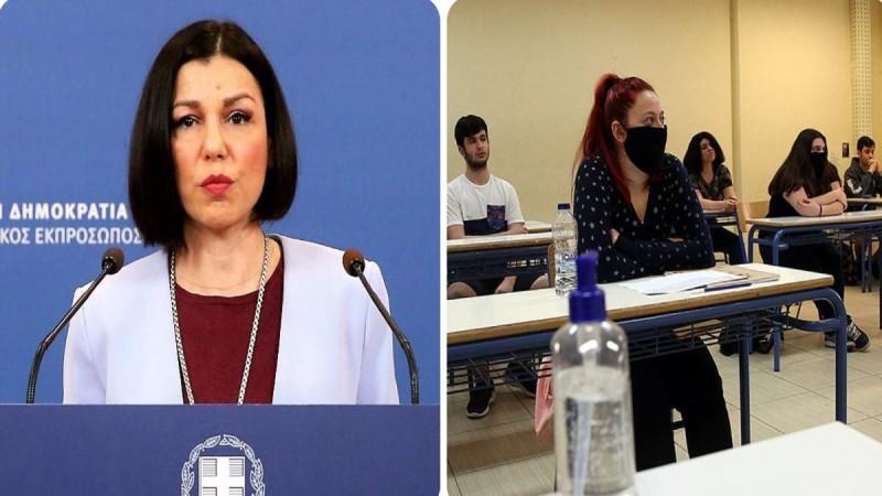 Αριστοτελία Πελώνη: Στοιχειώδης κίνηση αυτοπροστασίας ο εμβολιασμός - Τι ανέφερε για τα self test στα σχολεία (Video)