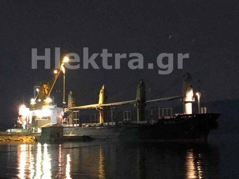Το πλοίο όπου εντοπίστηκαν τα ναρκωτικά