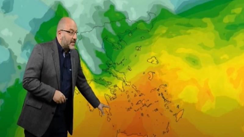 Προειδοποίηση βόμβα από τον Σάκη Αρναούτογλου: Έρχεται εντυπωσιακή θερμή εισβολή!