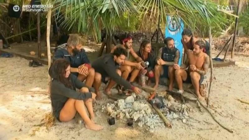 Survivor 4: Μετά τον καβγά... ξαφνικά τα βρήκαν - Ένωση στην κόκκινη ομάδα