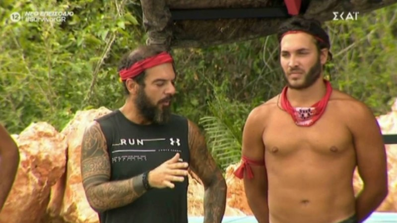 Survivor 4: Νέα διαμάχη Τριαντάφυλλου με Ηλία - «Αφού δε με θες δε θα παίξω»