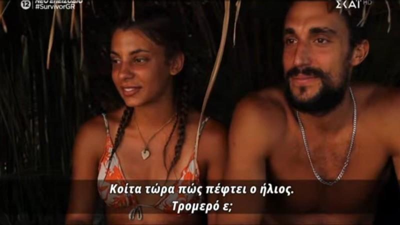 Survivor 4: Έρωτας χωρίς τέλος για Σάκη και Μαριαλένα - Της έκανε δώρο καρδούλα... με κουμπάρο Παππά
