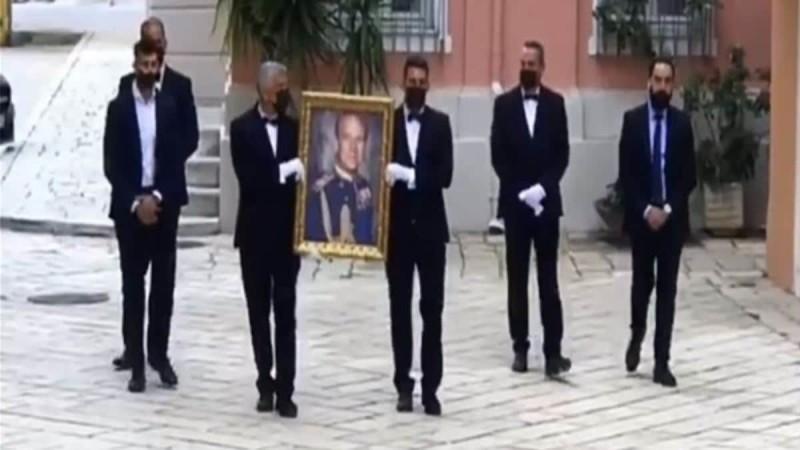 Πραγματοποιήθηκε τελετή στη μνήμη του πρίγκιπα Φιλίππου στην Κέρκυρα