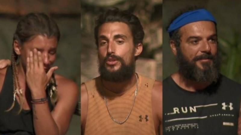 Survivor 4: Τριαντάφυλλος και Σάκης υποψήφιοι προς αποχώρηση!