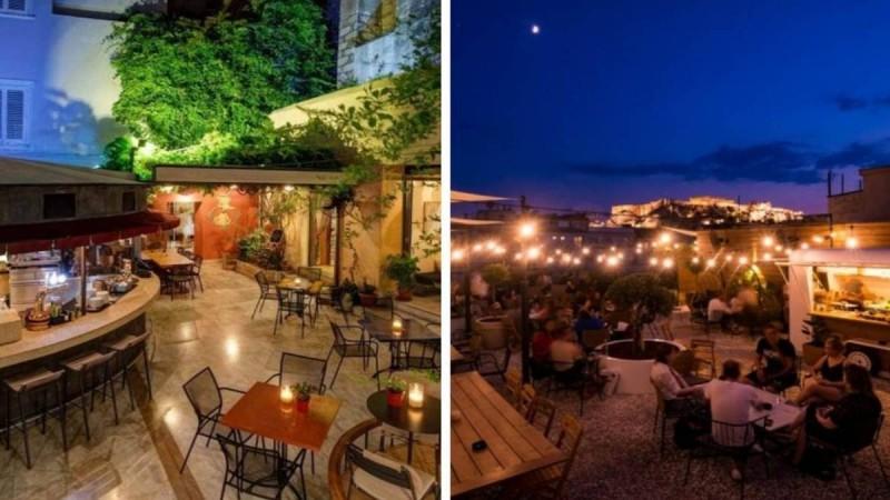 Αθήνα: Αυλές, ταράτσες και καφέ με θέα Ακρόπολη - Σας έχουμε τα καλύτερα
