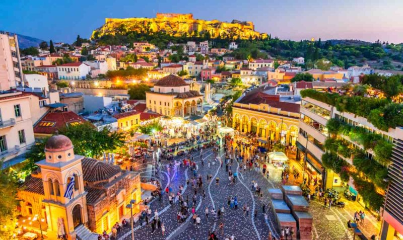 Γειτονιές για να περπατήσεις στο κέντρο της Αθήνας: Μοναστηράκι