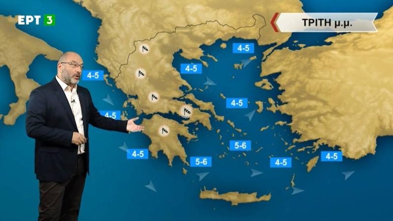 Ο Σάκης Αρναούτογλου προειδοποιεί: «Σκωτσέζικο ντους» του καιρού - Ανυπόφορη ζέστη και βροχές στην χώρα