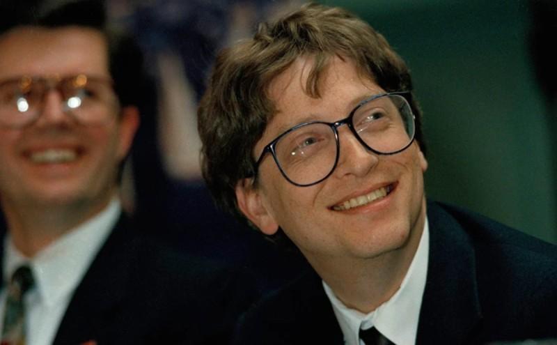 Ο Bill Gates σε μικρή ηλικία