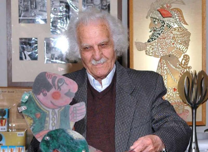 Ευγένιος Σπαθάρης, έλληνας καλλιτέχνης του θεάτρου σκιών.