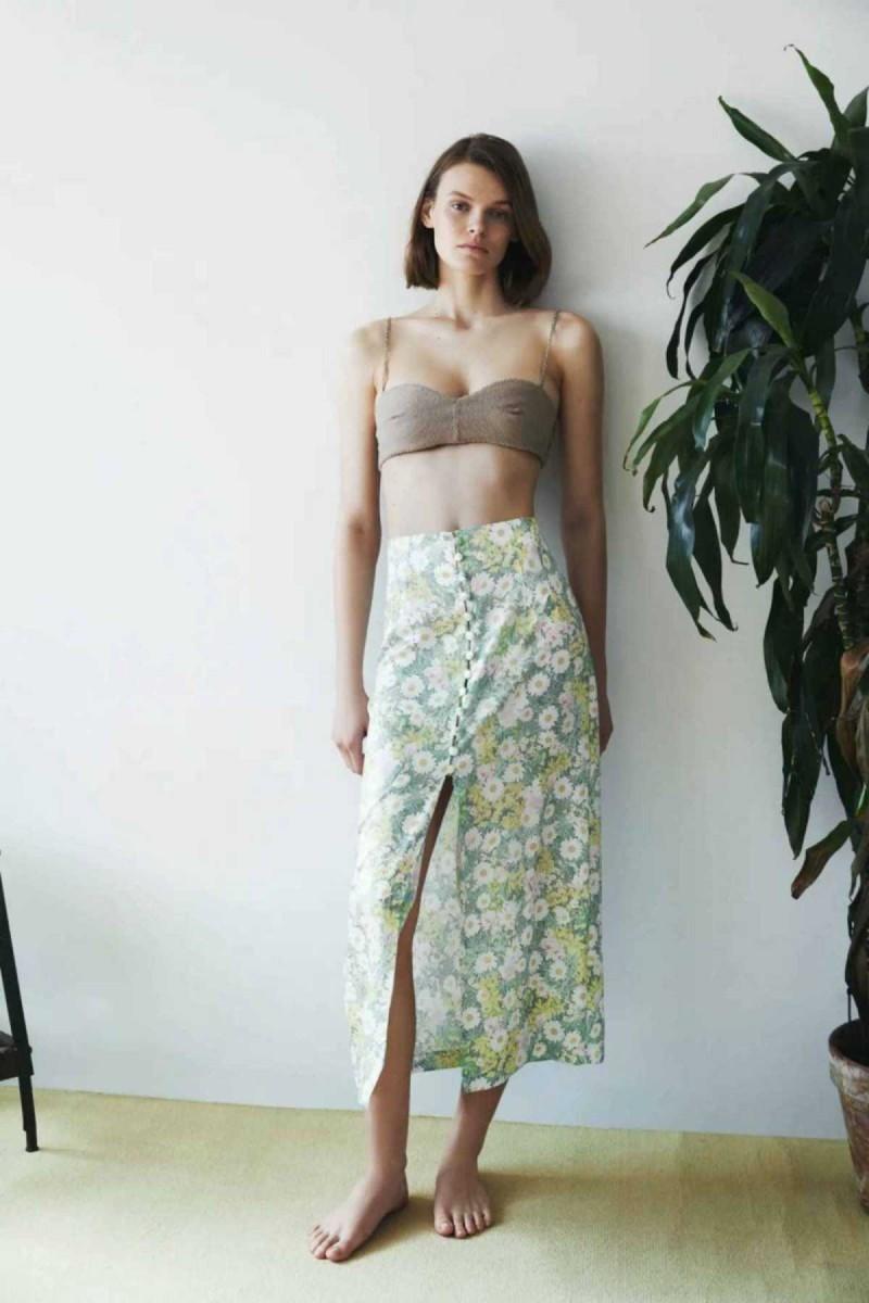 Floral φούστα από το ZARA
