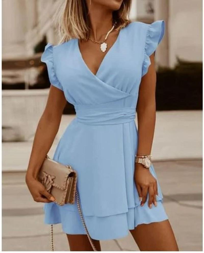 Φόρεμα κοντό σε Α γραμμή