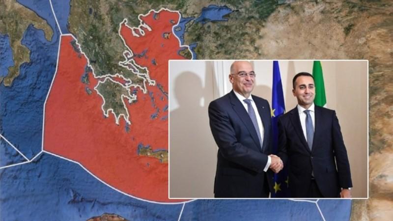 Ελλάδα-Ιταλία επικυρώθηκε η συμφωνία για την ΑΟΖ