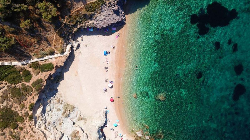 Η παραλία ΚΑΠΕ στην Αττική