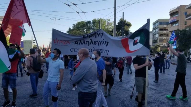 κλειστή η Κατεχάκη εξαιτίας της πορείας για το ισραήλ