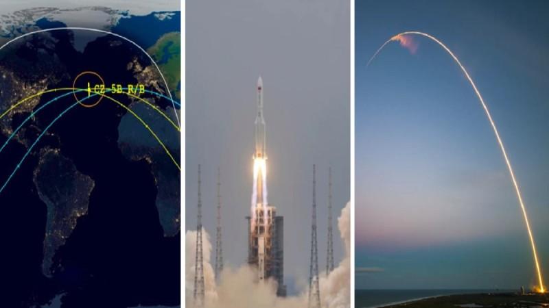 Κινεζικός πύραυλος: Λήξη συναγερμού - Έπεσε στον Ινδικό Ωκεανό κοντά στις Μαλδίβες (photo-video)