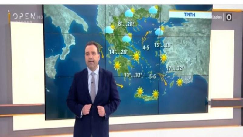 Κλέαρχος Μαρουσάκης: Ηλιοφάνεια και σήμερα στη χώρα μας