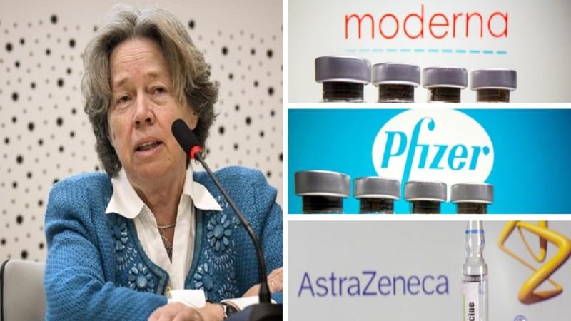 Κορωνοϊός: Προειδοποίηση Αθηνάς Λινού - Προτείνει εμβόλιο Pfizer και Moderna για τις γυναίκες κάτω των 50 ετών (Video)