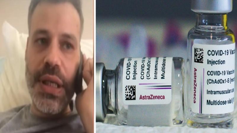 Θρίλερ στην Κρήτη: «Ήθελα να πάρω τη ζωή μου πίσω αλλά...» - Ανατριχιάζει ο 35χρονος που έπαθε δύο θρομβώσεις μετά το εμβόλιο με AstraZeneca