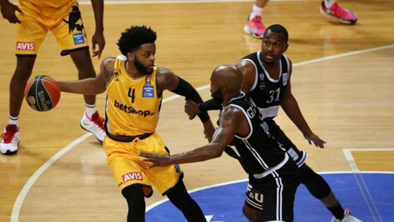 Basket League: «Καθάρισε» ο Μέικον για την ΑΕΚ