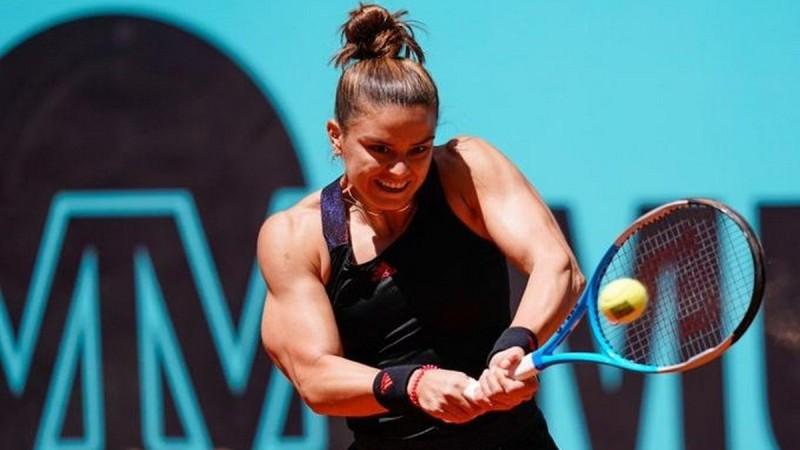 Σάκκαρη: Πρόκριση στους «16» του Madrid Open