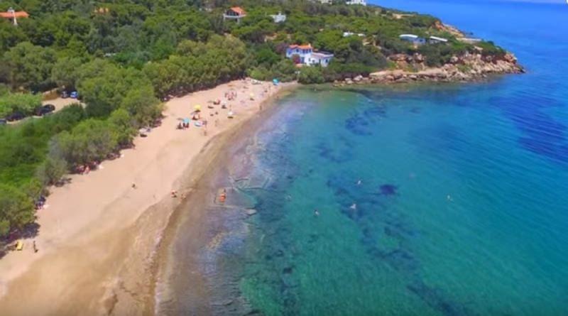 Η μυστική παραλία στη Ραφήνα