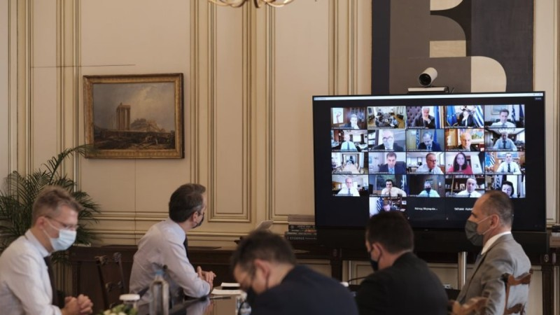Μητσοτάκης: Ευρωπαϊκό πιστοποιητικό και πανεπιστημιακή αστυνομία τα θέματα του υπουργικού συμβουλίου