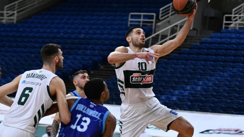 Basket League: Ένα ημίχρονο χρειάστηκε ο Παναθηναϊκός