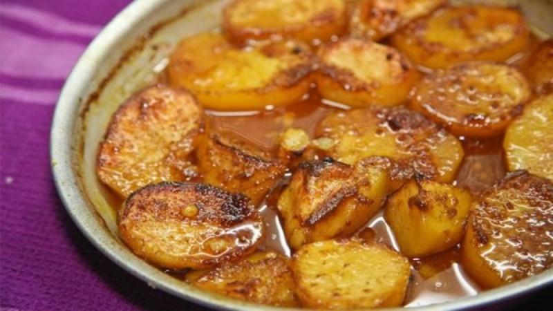 Λαχταριστές πατάτες στο φούρνο με πορτοκάλι