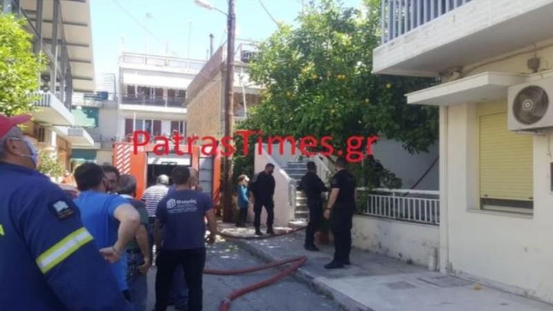 Απανθρακώθηκε 60χρονη μετά από φωτιά σε σπίτι στην Πάτρα
