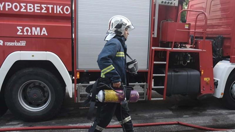 Φωτιά στην Καστοριά