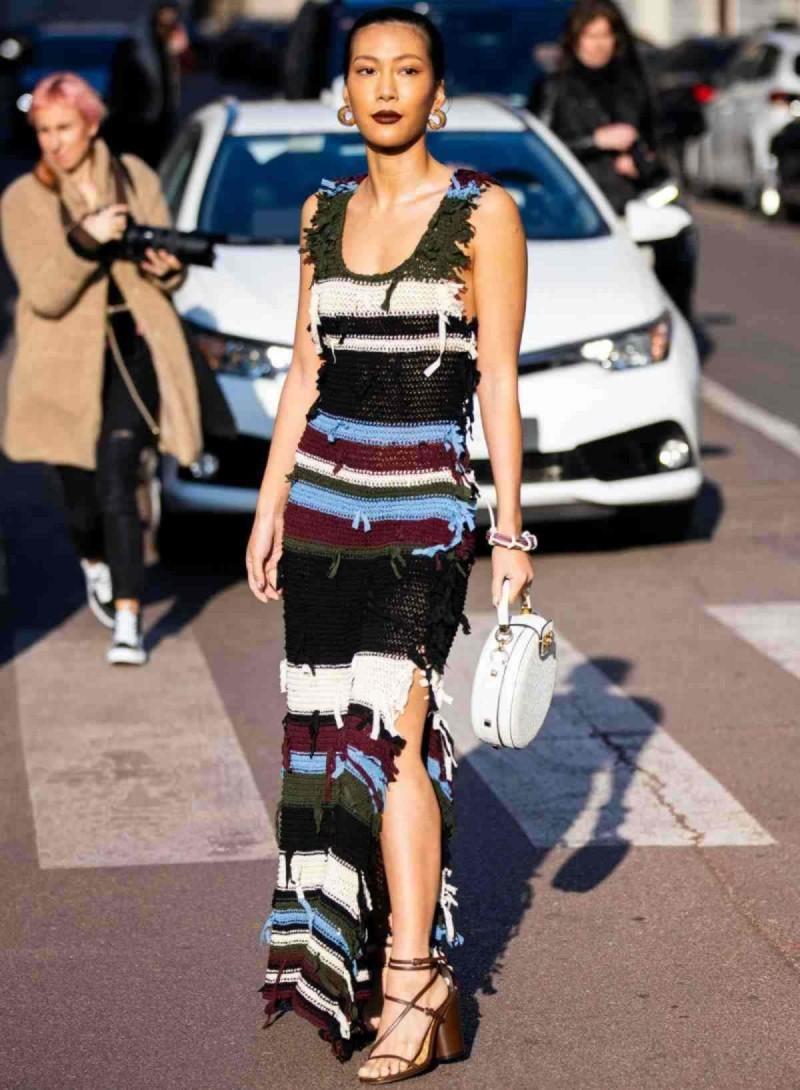 Πλεκτό φόρεμα από ZARA
