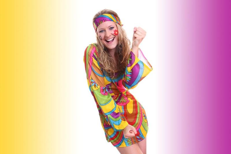 Φόρεμα με Psychedelic prints