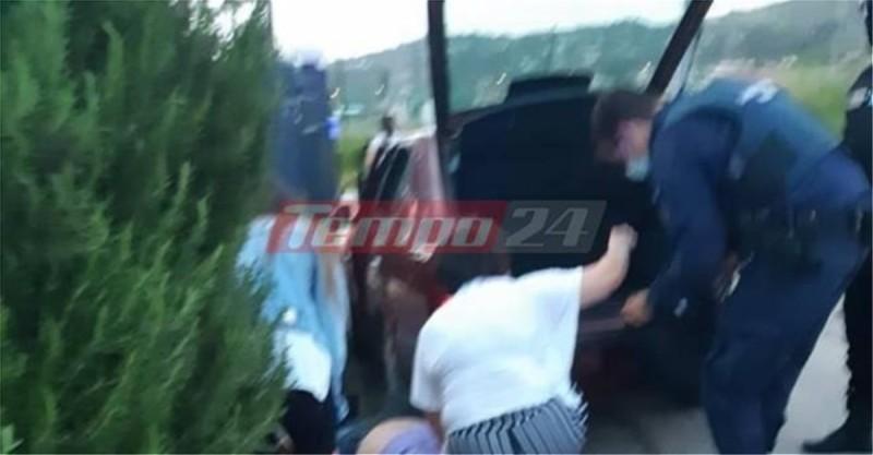 Οδηγός ταξί κυνηγούσε ρομά και τον πάτησε το αυτοκίνητό του